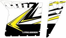 Pro Armor Solid Door Graphics Kit White Lightning Polaris RZR 800 900 XP 08-14