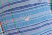 Gant Cross Poplin Checked Long Sleeve Shirt Size XL