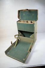 Vintage Military Medicine Hand Shoulder Bag Hard Case For Medical Supplies WWII
