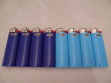 8 Bic Assorted Color Regular Size Disposable Lighter