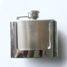 """""""FLASQUE"""" Flask Alcool-Bouteille Boucle de ceinture rations belt buckle * 583"""