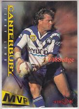 1996 DYNAMIC SERIES 2 CLUB MVP SIGNATURE: TERRY LAMB #36 BULLDOGS AUTOGRAPH AUTO