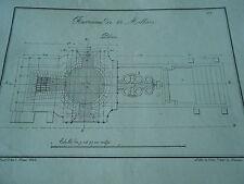 Litho 1823 Fourneau à 60 Milliers plan