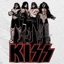 Kiss Love Gun Embroidered Big Patch for Back Gene Simmons Paul Stanley Rock Band