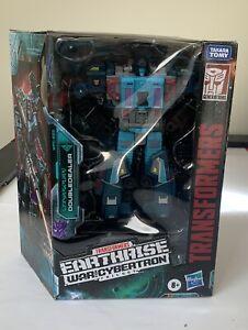 Hasbro Transformers DoubleDealer Leader Class Action Figure NEW