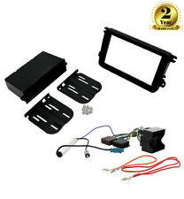 CT24VW19 Single/Double Din Fascia Fitting Kit Wiring for VW Caddy EOS Fusca
