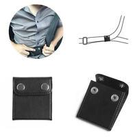 2X Car Seat Belt Adjuster Shoulder Neck Strap Positioner Clip Protector Soft