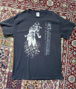 Metal Gear Solid 4 Guns of the Patriots Promo Shirt Size L PlayStation Defect