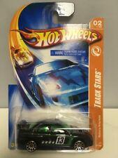 Hot Wheels - '07 Track Stars #02/12 - Subaru Impreza - Black IMPERFECT CARD