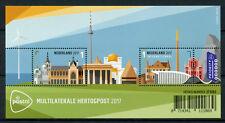 Netherlands 2017 MNH Multilaterale Hertogpost 2v M/S Postal Services Stamps