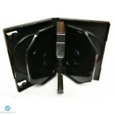1 x 8 Way Nero DVD 26mm DORSO contiene 8 DISCHI VUOTI nuovo caso di sostituzione HQ AAA