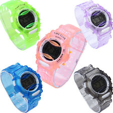 Boys Girls Children KIDS Students Digital Watch Wrist Running Sport Watches