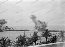 Negativo-bombardamenti su Messina - 1943-Sicilia-ITALIA -