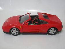 Ferrari 348ts 1/18 w/RemovableTarga Top Diecast Model Car Rare Custom Modified
