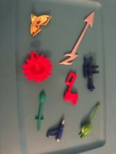 Power Rangers Lot Accessories Weapons MMPR Parts Vintage 1990s  (2000s?) Bandai