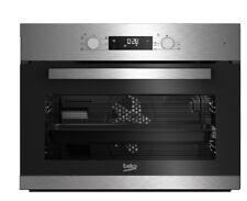 Beko horno independiente cristal negro Bce12300x