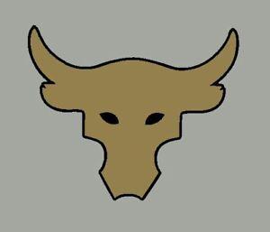 Brahma Bull Sticker Vinyl Decal Rock UA Project