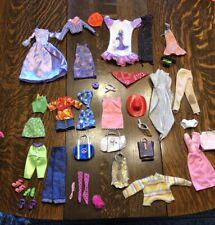 Lot Of Barbie Clothes Hats Shoes