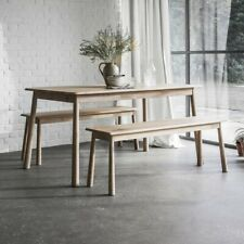Wycombe Dining Bench - Oak
