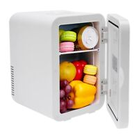 Mini Fridge Small Refrigerator Freezer Single Door Compact Black Metal White USA