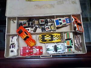 Aurora Ho Slot Car lot Pit Kit Box Tyco