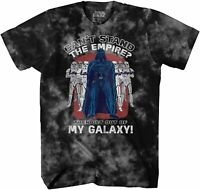 Star Wars Darth Vader Empire Galaxy Adult Tee Graphic T-Shirt for Men Tshirt