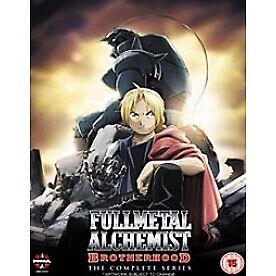 Fullmetal Alchemist Brotherhood Complete Series DVD
