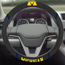 Brand New NCAA Michigan Wolverines Universal Fit Car Truck Steering Wheel Cover