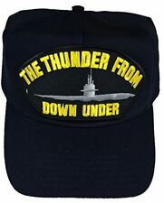 USN NAVY THE THUNDER FROM DOWN UNDER SUBMARINE HAT CAP BUBBLEHEAD DOLPHINS