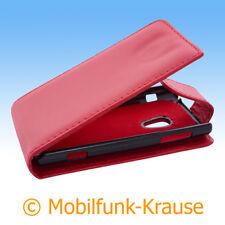 Flip Case Etui Handytasche Tasche Hülle f. Sony Ericsson Xperia X10 (Rot)