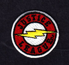 THE FLASH-JUSTICE LEAGUE PATCH-DC COMICS- Iron On  Patch/TV, Movie,Cartoons,