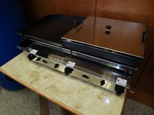 Commercial Catering Van - LPG GAS GRILL SHALLOW FRYER Piezo ignition 80x40cm