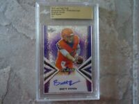 2019 LEAF FLASH DRAFT ROOKIE AUTO BRETT RYPIEN 1 OF 1 ENCASED