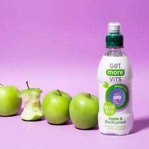 Multi Vitamin Kids Drink Apple & Blackcurrant 12x330ml by Get More Vits