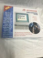 ActiveHome Home Automation X10 Cm11A In Sealed Box Like WiFi Remote Security
