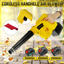 55800mAh Cordless Handheld Electric Air Blower Vacuum Dust Leaf Cleaner Sweeper