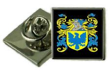 Whittall Inglaterra Familia Crest Escudo de Armas Insignia Pin de Solapa Grabado Regalo Funda