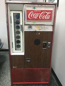 Vintage Coke Vending Machine. Built Feb. 1979.
