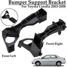 2Pc Front Left+Right Bumper Spacer Retainer Bracket For Toyota Corolla  W
