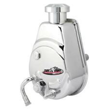 Tuff Stuff Power Steering Pump 6182A; 1200psi Saginaw Chrome for 80-88 Chevelle