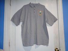 XL Golf Polo Shirt Battalion Golf outin 2003 Anvil Knitwear Gray Short Sleeve
