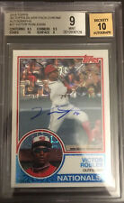 2018 Topps Silver Pack Chrome Refractor Victor Robles Rookie RC Autograph AUTO