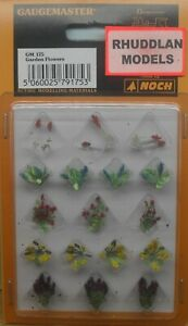 GAUGEMASTER  GM175 OO GAUGE GARDEN FLOWERS  NEW
