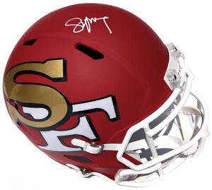STEVE YOUNG SIGNED SAN FRANCISCO 49ERS AMP F/S FOOTBALL HELMET PSA/DNA HOF