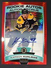 2019-20 OPC Platinum Red Prism Rookie Auto Karson Kuhlman /50
