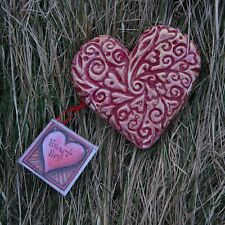 Valentine Heart wall plaque decor romantic gift art mother's Day