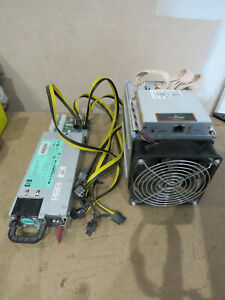 Bitmain Antminer z9 mini with Server PSU included  up to 15ksols