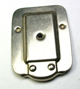 Vintage Genuine Pfaff Single Hole Throat Plate For Models 230-338 Part 60407