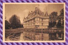 CPA 37 - AZAY-le-RIDEAU - Chateau national - façade sud est