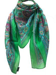 Indian Silk head scarf hair wrap 100% silk gypsy shawl  fashion boho scarves